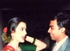 old photograph of Mukesh and Neeta Ambani